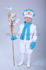 1109. Снеговичок. Костюм с шарфом и варежками