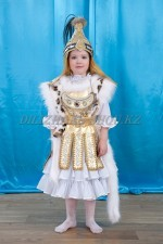 0114. Казахский костюм Томирис на 4-5 лет