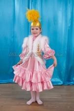 501. Казахский национальный костюм для девочек