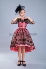 Бальное платье со шлейфом