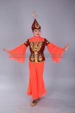 0097. Казахский танцевальный костюм