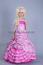 5098. Принцесса в парчевом платье