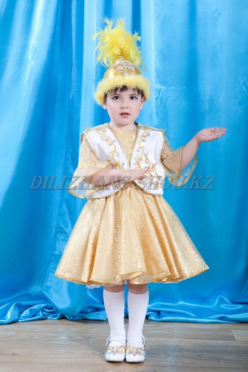 Казахские костюмы для девочек сшить своими руками 40