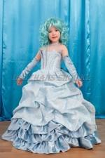 Бальное платье Королевское голубое