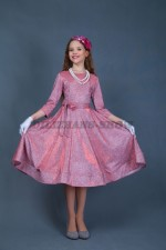 Коктейльное платье в ретро стиле