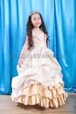 Бальное платье Королевское в золоте