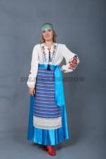 5704. Женский костюм в славянском стиле
