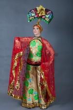 5720. Китайский костюм. Бабочка.