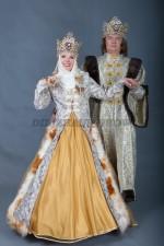 5751. Парные костюмы в русском стиле. Боярин с боярынькой.