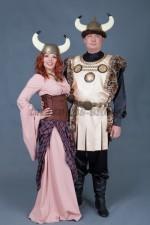 5757. Парный костюм Викингов