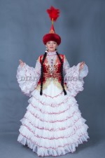 5838. Казахский национальный для невесты
