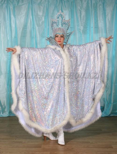 Наряд для снежной королевы своими руками