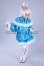 1104. Костюм новогодний голубая принцесса