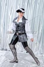 1225 Пиратка в серебрянном жилете