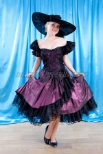 2620. Платье в стиле ретро