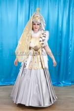 2064. Казахский костюм «Томирис»национальный наряд