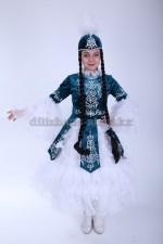 0048. Меруерт. Казахский костюм для девочек.