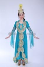 Уйгурский праздничный костюм для девочки