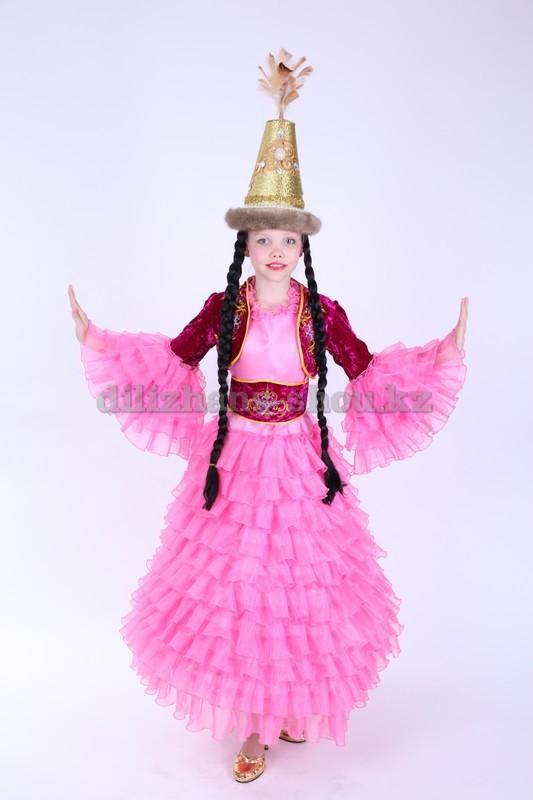 Казахские костюмы для девочек сшить своими руками 48