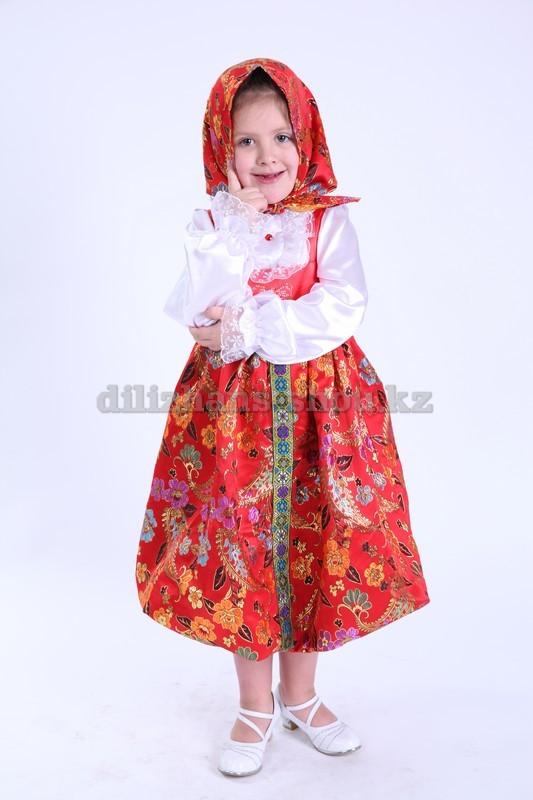 Русские детские национальные костюмы | Дилижанс Шоу ... Донская Казачка Костюм