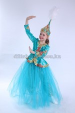 0100. Казахский костюм