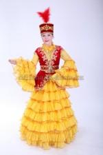 Казахский костюм женский