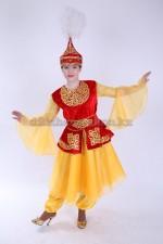 0053. Казахский танцевальный костюм для девочек