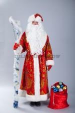 4706. Дед Мороз в вышитой шубе