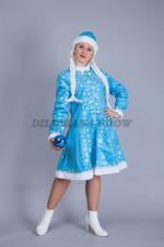 5135. Снегурочка с голубым шаром