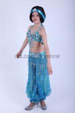 33287. Детский костюм для восточных танцев. Жасмин.