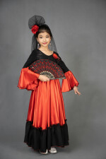 Испанский костюм для девочки