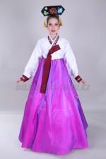 2364. Подростковый костюм ханбок фиолетовый