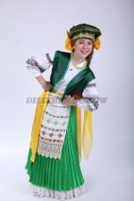 Белорусский народный костюм для девочки-подростка