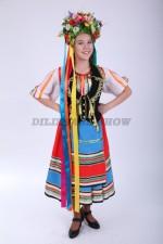 Украинский народный костюм для девочки-подростка