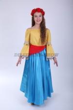 Филиппинский народный костюм для девочки подростка
