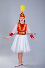 Казахский национальный костюм для девочки