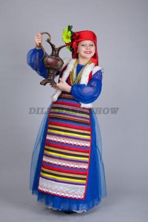 Украина. Белоруссия. Прибалтика. Детские национальные костюмы.