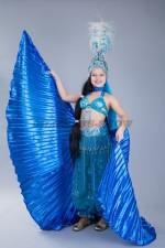 5251. Костюм для восточных танцев с крыльями