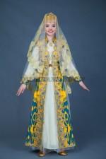 Узбекский национальный костюм для девочки