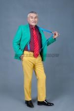 5800. Костюм для стиляги. В комплекте: брюки, пиджак, рубашка, галстук, подтяжки.