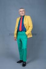 5806. Стиляга в желтом пиджаке