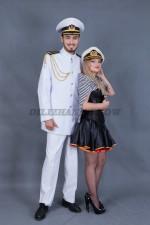 5715. Капитан и морячка. Парные костюмы.