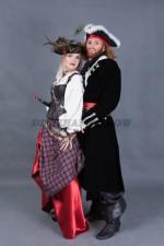 5754. Парные костюмы пиратов