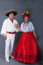 5758. Парный костюм для бразильской вечеринки