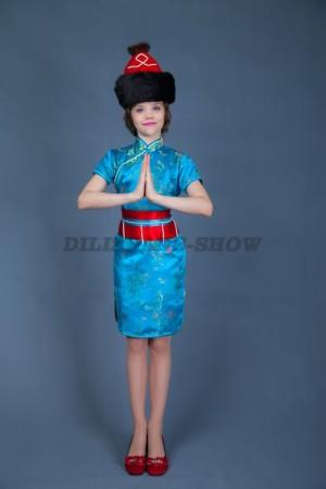 Бурятский костюм для девочки