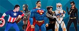 Аренда костюмов персонажей-супергероев